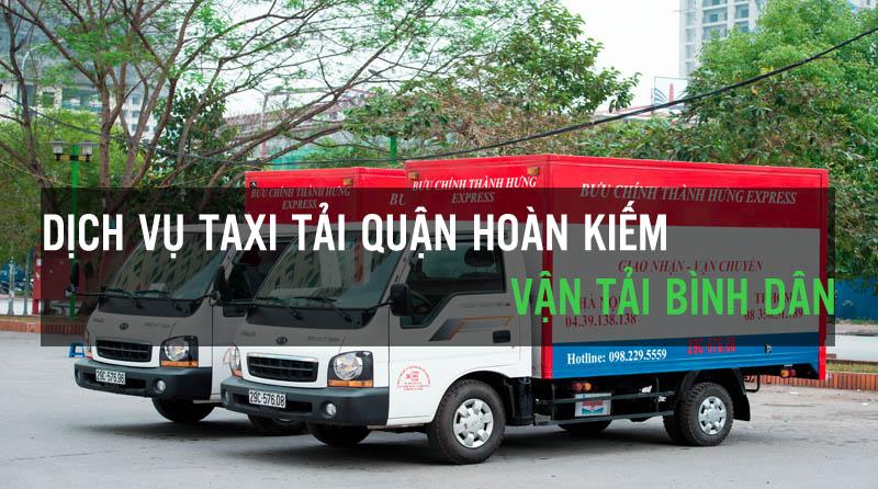 Dịch vụ taxi tải quận Hoàn Kiếm vận tải Bình Dân