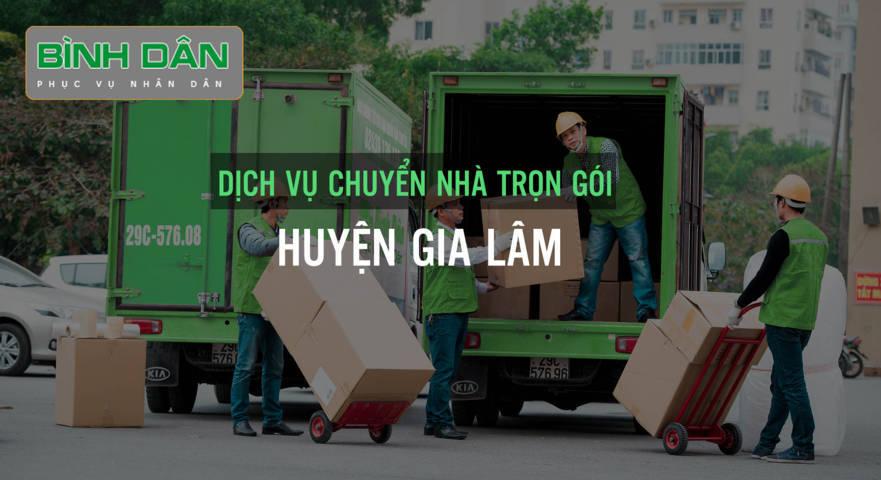 Công ty cung cấp dịch vụ chuyển nhà tại huyện Gia Lâm uy tín