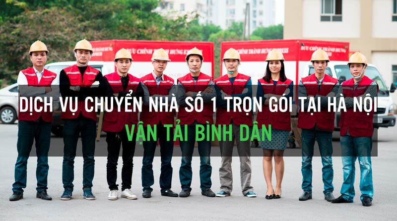 Dịch vụ chuyển nhà trọn goi số 1 Hà Nội