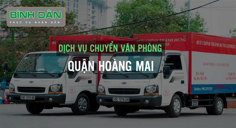 Dịch vụ chuyển văn phòng tại quận Hoàng Mai
