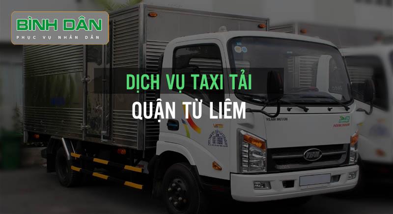 Dịch vụ taxi tải huyện Thanh Trì