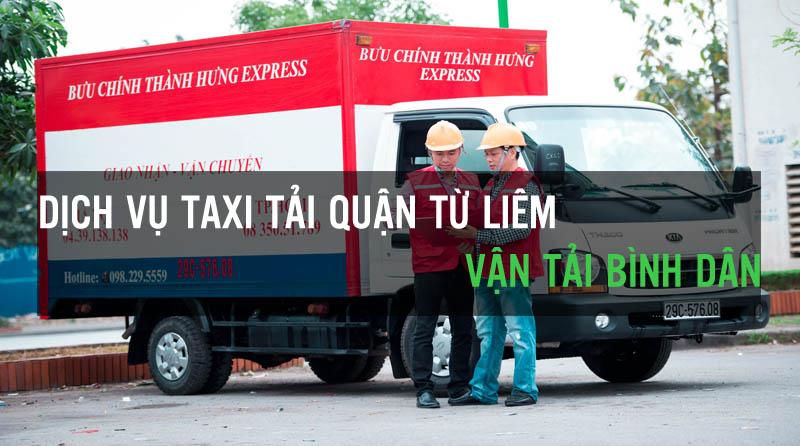 Dịch vụ taxi tải quận Từ Liêm vận tải Bình Dân