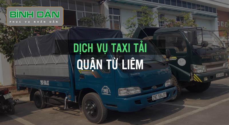 Dịch vụ taxi tai quận Từ Liêm