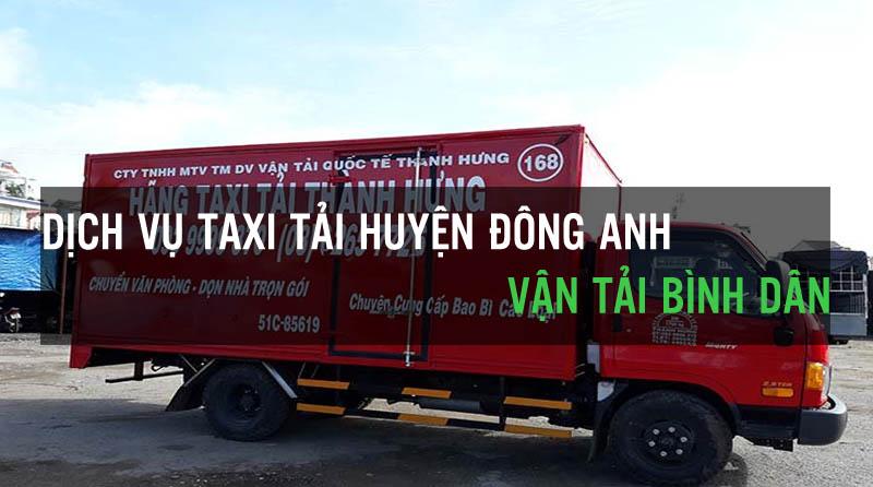 Dịch vụ thuê xe tải huyện Đông Anh Vận Tải Bình Dân