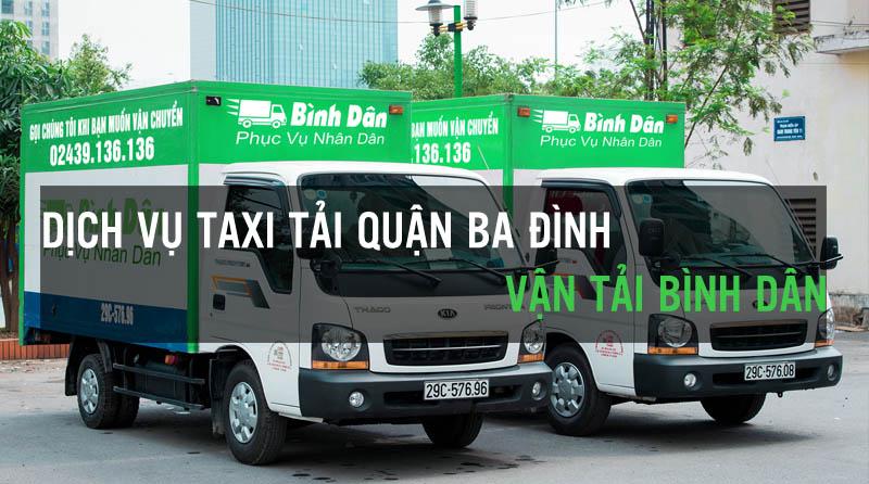 Dịch vụ thuê xe tải quận Ba Đình Vận Tải Bình Dân