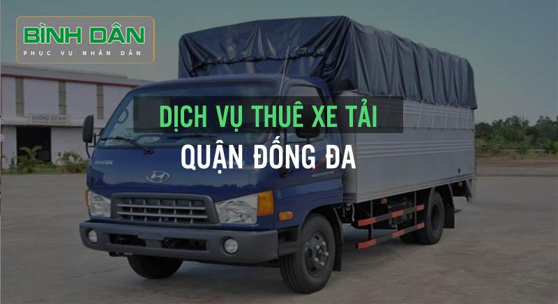 Dịch vụ thuê xe tải tại quận Đống Đa