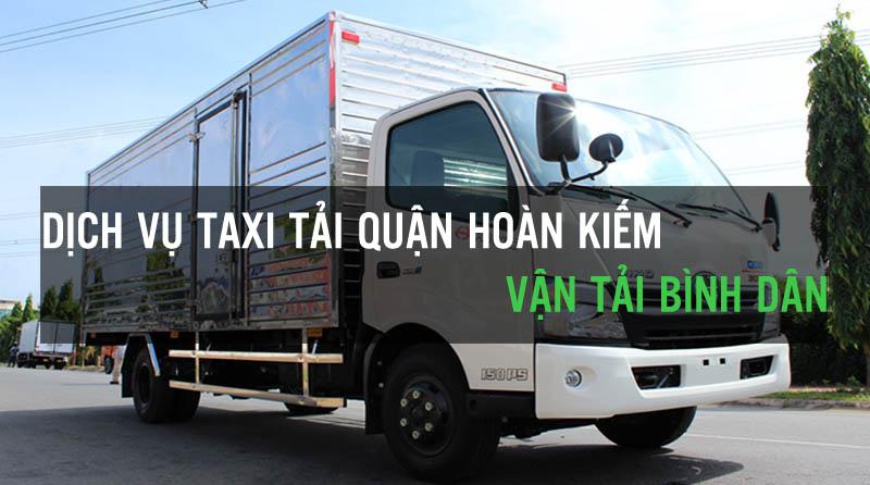 Dịch vụ thuê xe tải quận Hoàn Kiếm Vận Tải Bình Dân