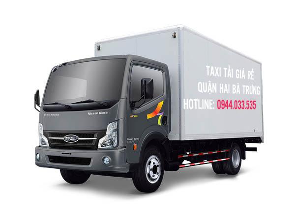 Taxi tải giá rẻ và uy tín tại quận Hai Bà Trưng – Hà Nội