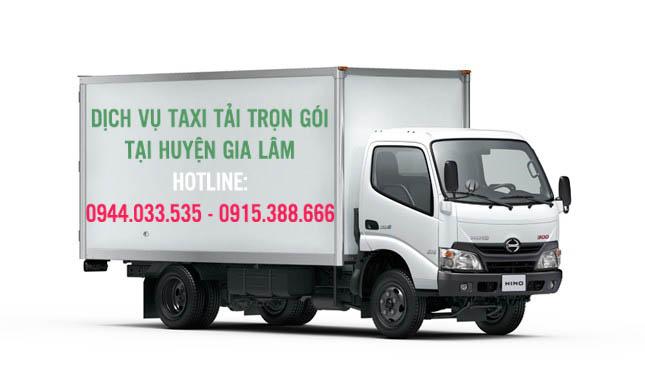 Dịch vụ thuê taxi tải trọn gói Huyện Gia Lâm, Hà Nội