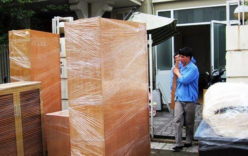 cách tháo lắp tủ gỗ khi di chuyển