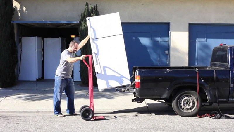 cách vận chuyển tủ lạnh đi xa