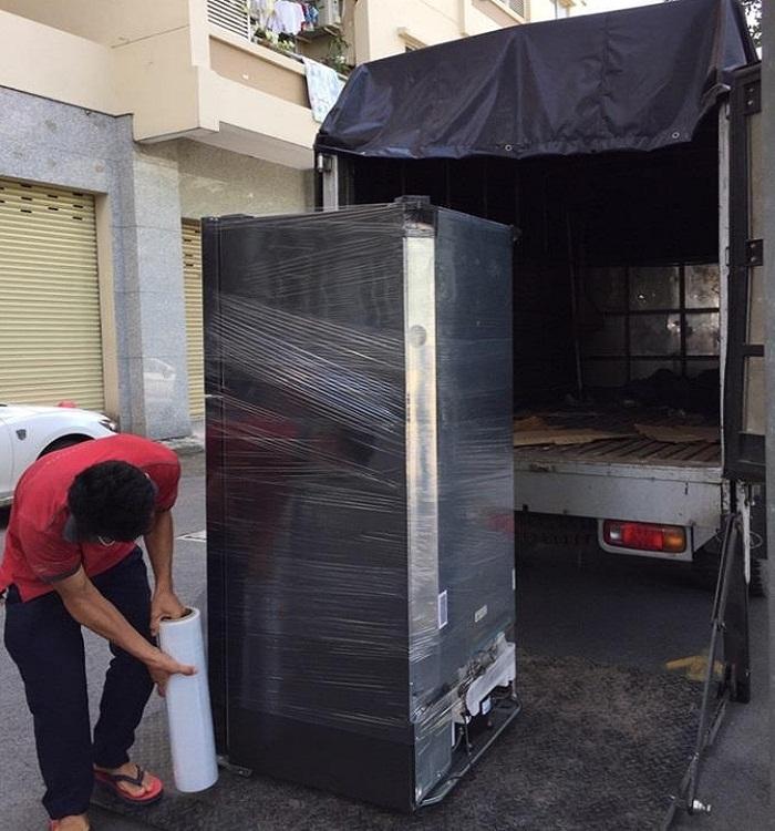 tủ lạnh sau khi vận chuyển