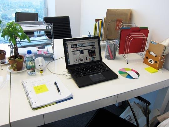 Sắp xếp bàn làm việc