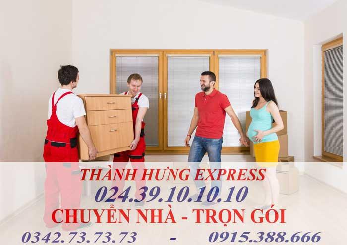 Dịch vụ chuyển nhà trọn gói chuyên nghiêp